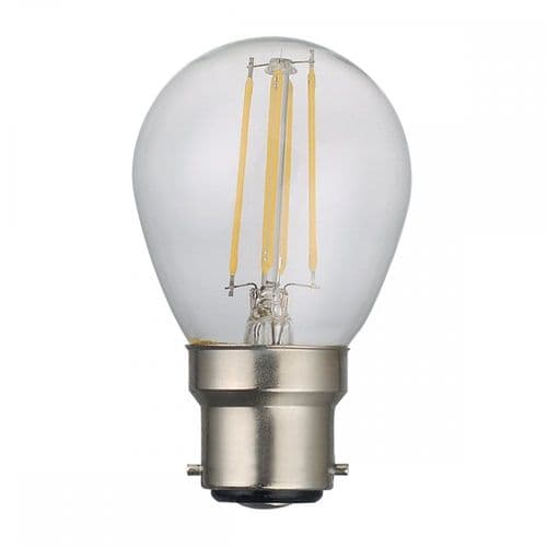 Dar Pack Of 5 B22 4w LED Dimmable Golf Ball Lamp